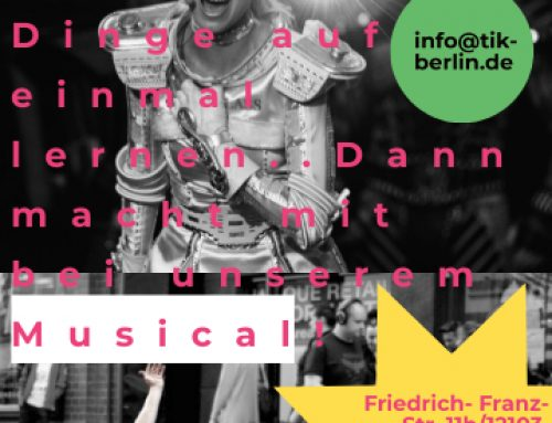Lets be Musical! – Unser neuer Musical -Workshop